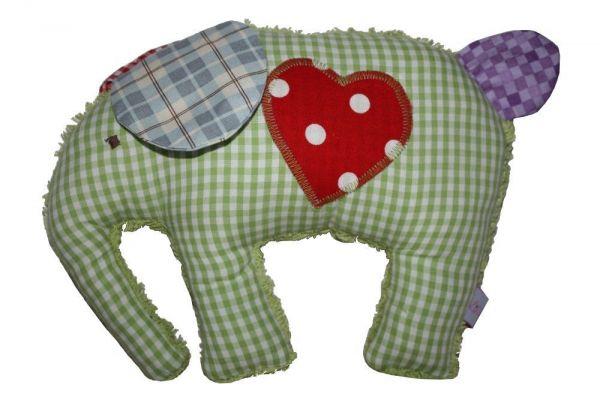 Lilli Löwenherz Emma der Elefant in grün