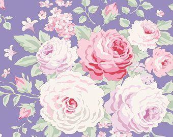 Tilda Stoff Lydia Blue aus der Serie Old Rose
