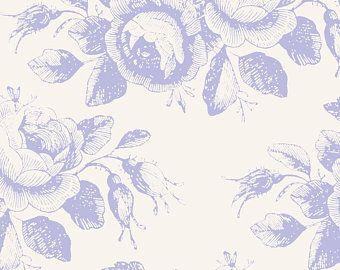 Tilda Stoff Mary Blue aus der Serie Old Rose