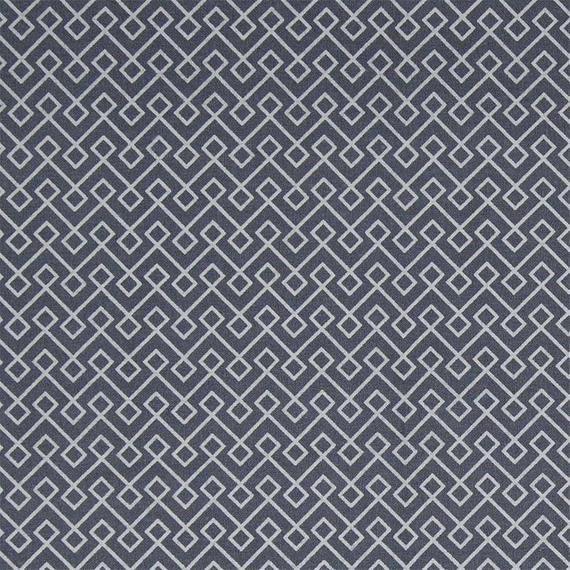 Au Maison beschichtete Baumwolle Oilcloth Infinity Almost Black