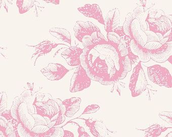 Tilda Stoff Mary Pink aus der Serie Old Rose