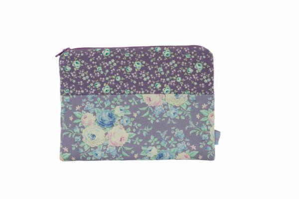 Handgemachte Kulturtasche Kosmetiktasche Lydia Lilac