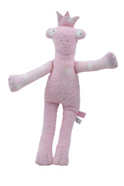 Lilli Löwenherz handgemachter Frosch Lisabeth in rosa