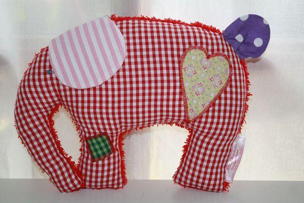 Lilli Löwenherz Emma der Elefant in rot