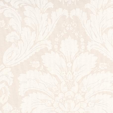 Au Maison beschichtete Baumwolle Oilcloth Victorian Baroque creme