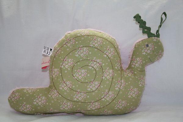 Lilli Löwenherz Paulinchen die kleine Schnecke in grün
