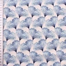 Hilco Stoff Ginkgo Blue aus der Serie Emilie
