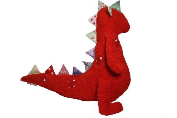 Fritzchen der Dinosaurier in rot