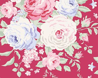 Tilda Stoff Lydia Rashberry aus der Serie Old Rose
