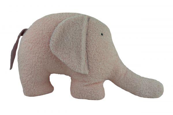 Lilli Löwenherz handgemachter großer Elefant Kissen Emma Rose
