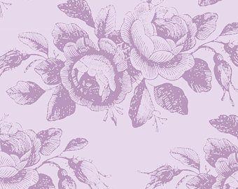 Tilda Stoff Mary Lavender aus der Serie Old Rose