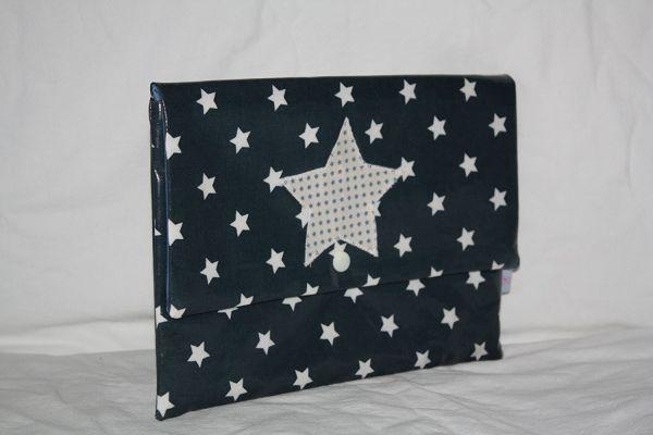 Lilli Löwenherz Wickeltasche Big Star Blue
